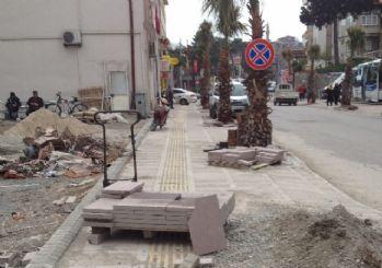 Amasra'da Cadde Çalışmaları Devam Ediyor