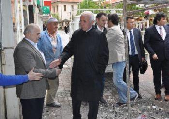 İşletmelere 'Geçmiş Olsun' Ziyareti