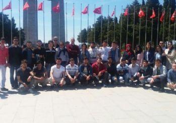Öğrencilerden Çanakkale'ye Tarih Gezisi