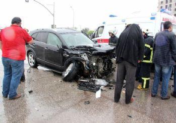 Gaziantep'te Aynı Yerde 3 Ayrı Trafik Kazası