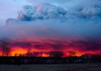 Kanada'da orman yangını söndürülemiyor