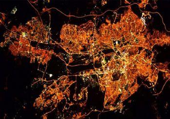 Astronotlardan Ankara ve İstanbul paylaşımı