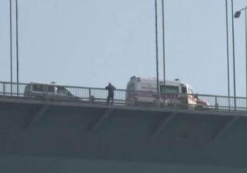 FSM'deki intihar girişimi İstanbul trafiğini kitledi