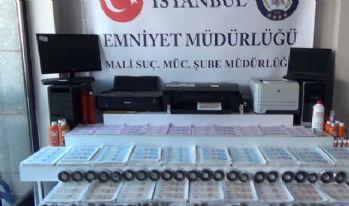 İstanbul'da 20 milyonluk sahte para operasyonu !