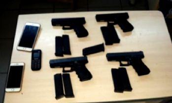 Silah kaçakçılığı operasyonunda 25 gözaltı