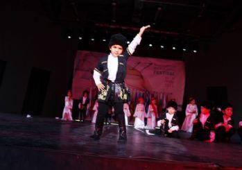 Minikler Dans Şovları İle Büyüledi