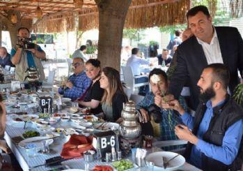 Nazilli Belediyespor Yönetiminden Zeytin Dalı