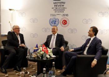 Bakan Çavuşoğlu Ve Bakan Çelik, AB Komisyonu Başkan Yardımcısı İle Vize Konusunu Görüştü