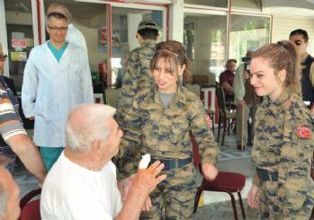 Efes 2016 Tatbikatında TSK Yöre Haklına Da Sağlık Hizmeti Verdi