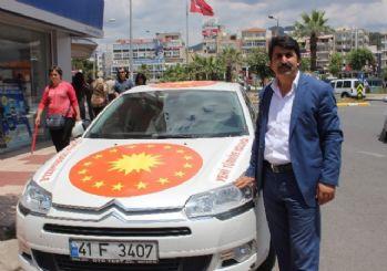 Cumhurbaşkanı Erdoğan'a Destek İçin Türkiye Turuna Çıkan Özavcı Aydın'da