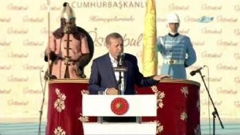 Erdoğan: 'Onların derdi fethin intikamını almaktır'