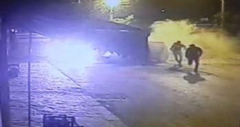 Plazma hırsızları kameraya yakalandı