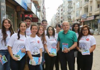 Efeler Kent Konseyi Çocuk Meclisi Temizlik Projesi Başlattı