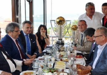 Beşiktaş'ın Şampiyonluk Kupası Bandırma'da