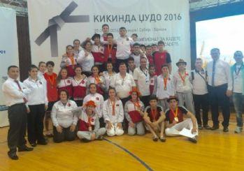 Judocu Aydın, Balkan 3.'sü Oldu