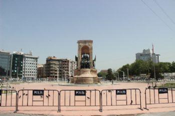 Taksim'de 'Gezi' önlemleri