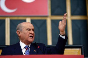 MHP lideri ABD'ye ateş püskürdü