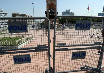 Gezi Parkı kapatıldı!