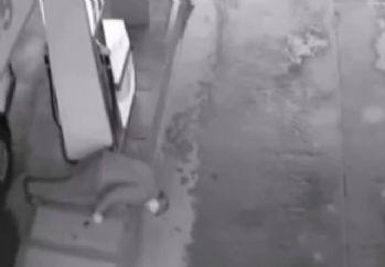 Benzin pompası adamı böyle yaraladı