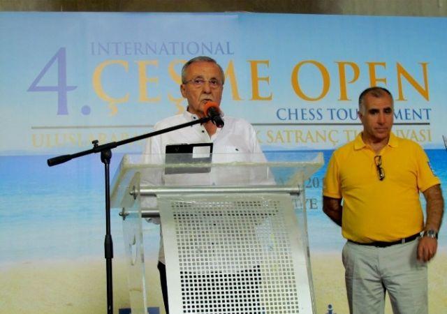 Çeşme Uluslararası Satranç Turnuvası Başladı