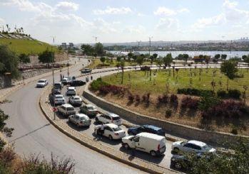 Ankara'da Zincirleme Trafik Kazası
