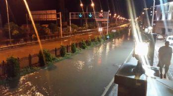 Şiddetli yağmur giresun'da etkili oldu