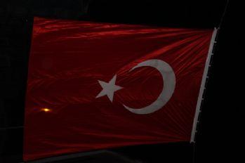 Şehidin Kırşehir'deki baba ocağı bayraklarla donatıldı