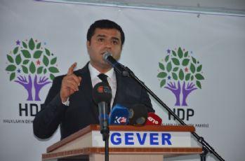 Demirtaş'tan Yüksekova halkı ile dayanışma çağrısı
