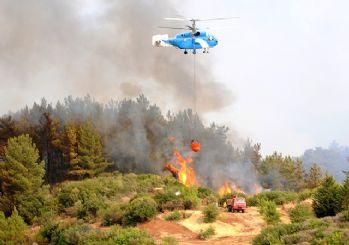 Adrasan'da yangın başladı, Olimpos tahliye ediliyor