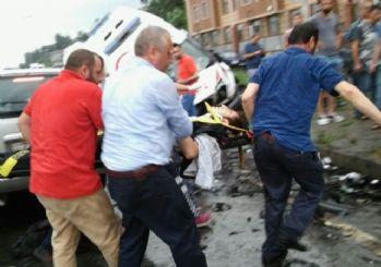 Rize'de Trafik Kazası: 1 Ölü, 5 Yaralı
