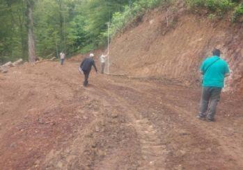 Gölyaka'da Yeni Yol Ve Büyük Onarım Yapım Çalışmaları Tamamlandı