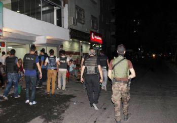 Diyarbakır'da helikopter destekli huzur operasyonu