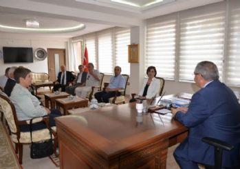 Vali, CHP heyetini kabul etti