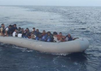 Kuşadası'nda kaçak göçmen operasyonu