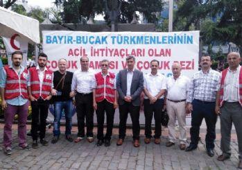 Türkmen çocukları yardımlarınızı bekliyor