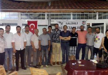 Salihli'deki Beşiktaşlılar yeni başkanını seçti