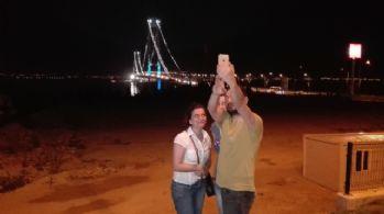 Osmangazi Köprüsü'nde 'selfie' çılgınlığı