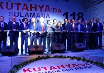 Bakan Eroğlu, Kütahya'da 21 tesisin temel atma ve açılış törene katıldı