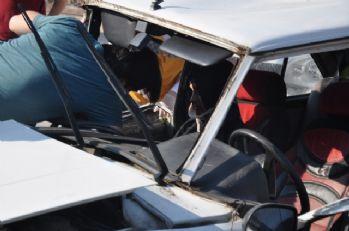 Engelli servisi kaza yaptı: 6 yaralı