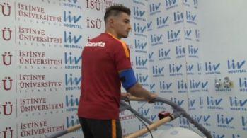 Galatasaray sağlık kontrolünden geçti