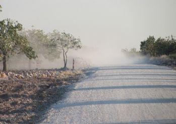 Araban'da Antep Fıstığı toz tehdidi altında