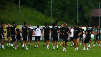 Beşiktaş'ın Avusturya kampı sürüyor