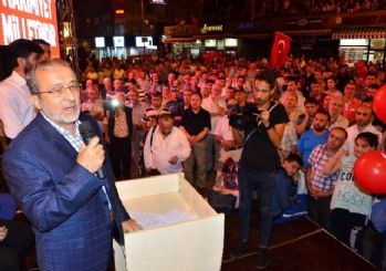 Zonguldak'ta 'Milli İradeye Saygı' programı