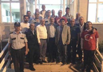 Altınova emniyetine teşekkür ziyareti