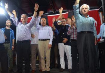 Milletvekili Metiner, Kahta'da halka hitap etti