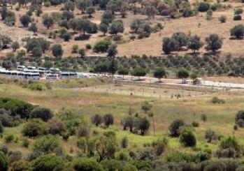 Foça'daki askeri üsse büyük operasyon: Çok sayıda asker gözaltında