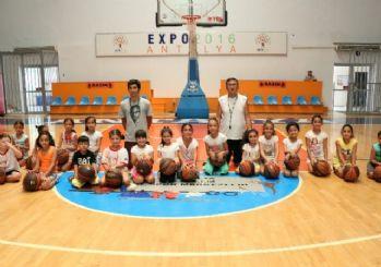 Antalya'da Yaz Spor Okulu heyecanı yaşanıyor
