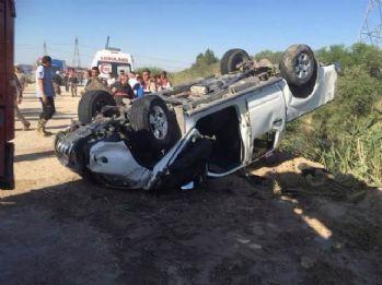 Otomobil dereye uçtu: 2 ölü, 1 yaralı