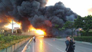 Balon fabrikasındaki yangın kontrol altına alındı