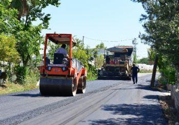 Göller Caddesi'ne 300 ton asfalt
